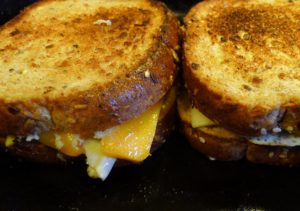 Father's Day Grilled Cheese